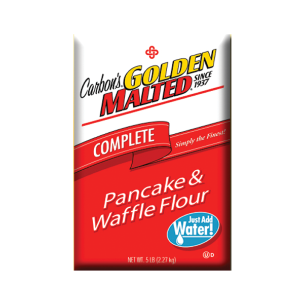 """WAFFLE MIX """"CARBON"""" 2,27Κgr (with water)"""