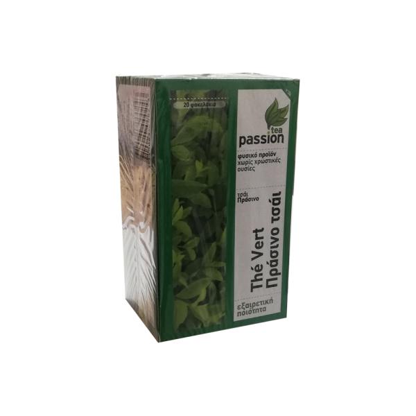 tea passion πρασινο τσαι