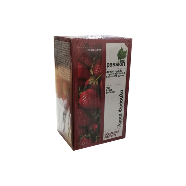 tea passion φραουλα